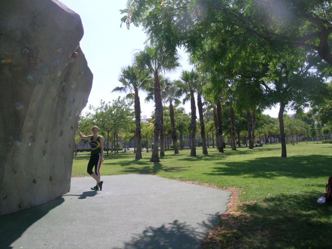 Boulders na Politecnica de Valencia...