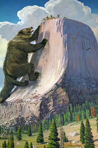 O urso atrás das indiazinha gostosa...