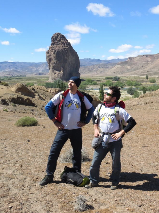 Eu e Beto no Petzl Roctrip... Isa de Fotógrafa zuando que a gente nunca é sério!