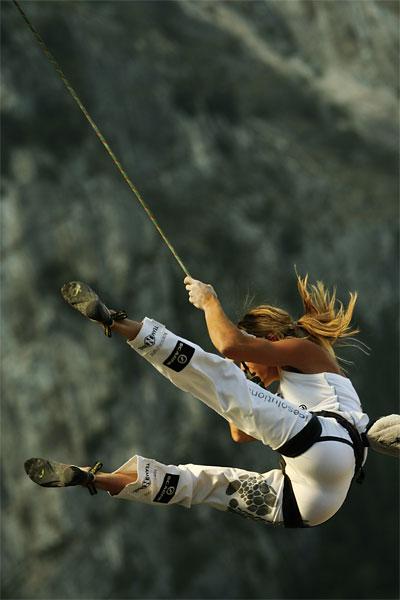 Natalija Gros em alguma competição