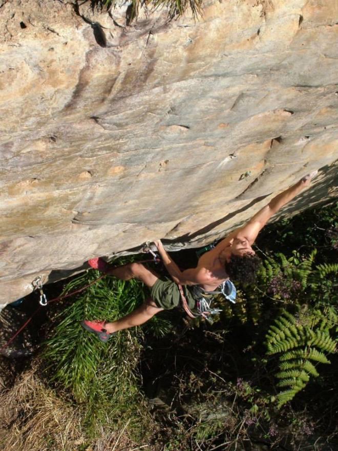 Coitado do Kalango na época em que era obrigado a escalar com sapatilha nacional!