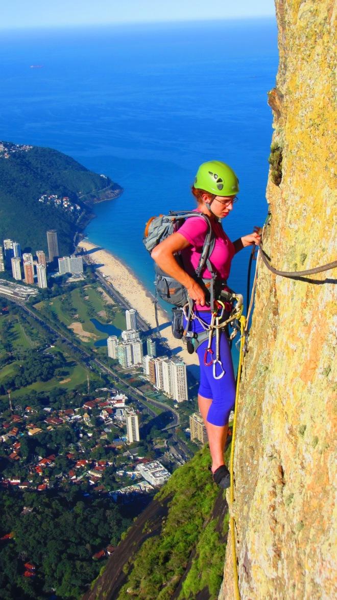 Naná numa das mais famosas fotos do Rio