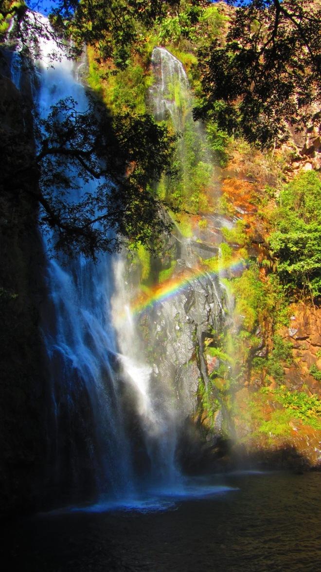 Cachoeira na Fazenda Santa Bárbara