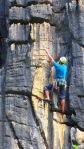 Eu avistando a Homem de Pedra, 7b - Via clássica  do Pico! Arapuá Included ;)
