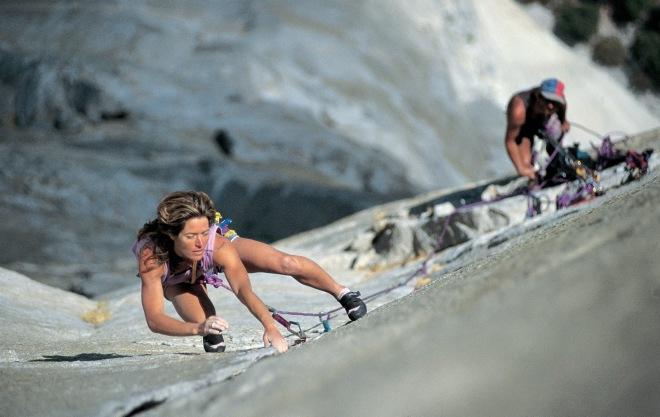 Lynn Hill - Primeiro ser humano a escalar a